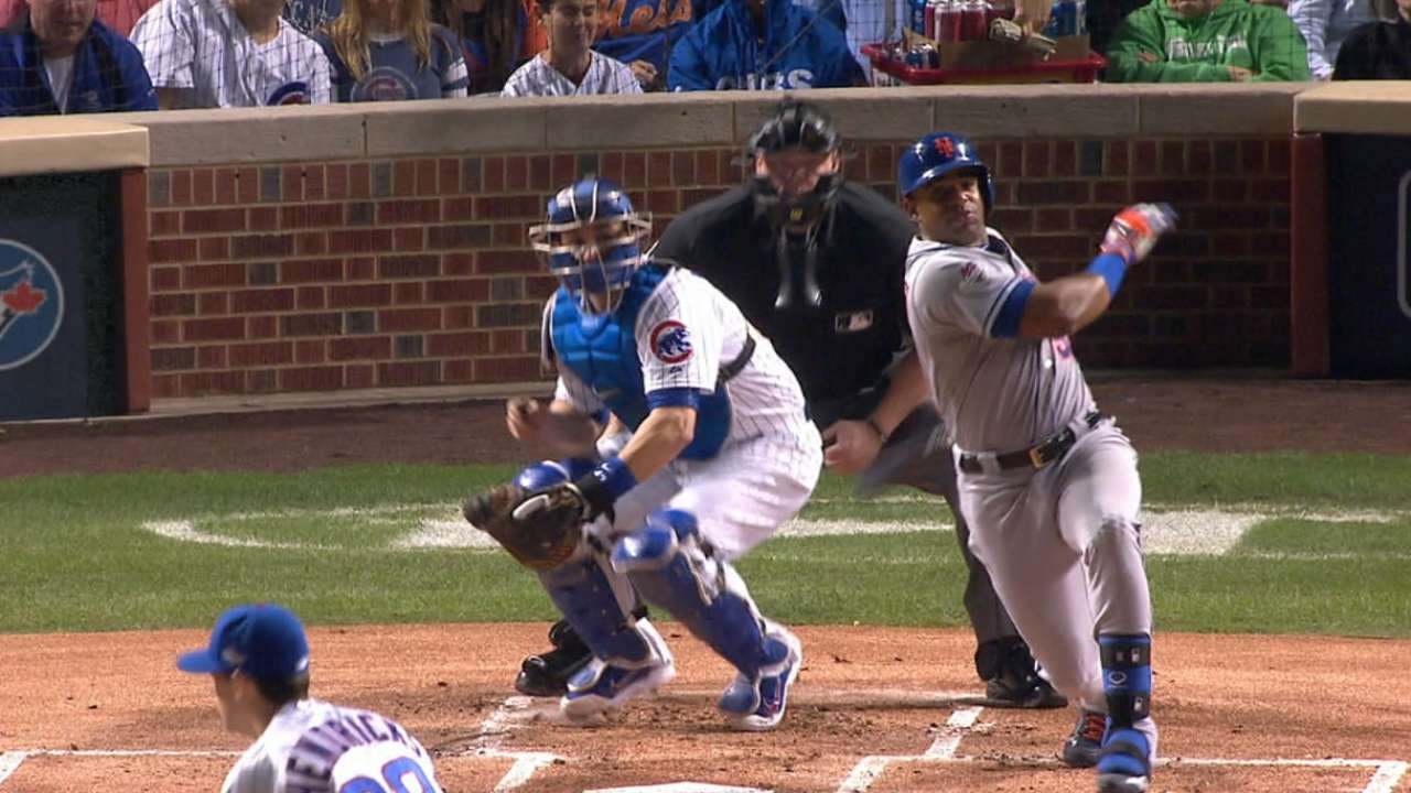 Mets score in 1st in 3rd straight NLCS game