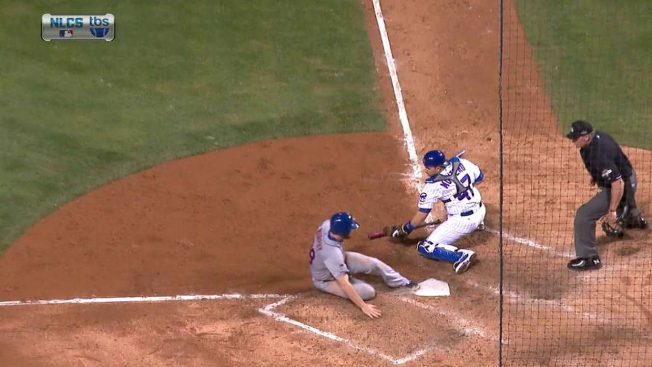 Murphy scores on Duda's grounder