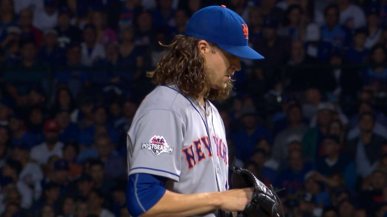 Stats of the Day: deGrom king of postseason