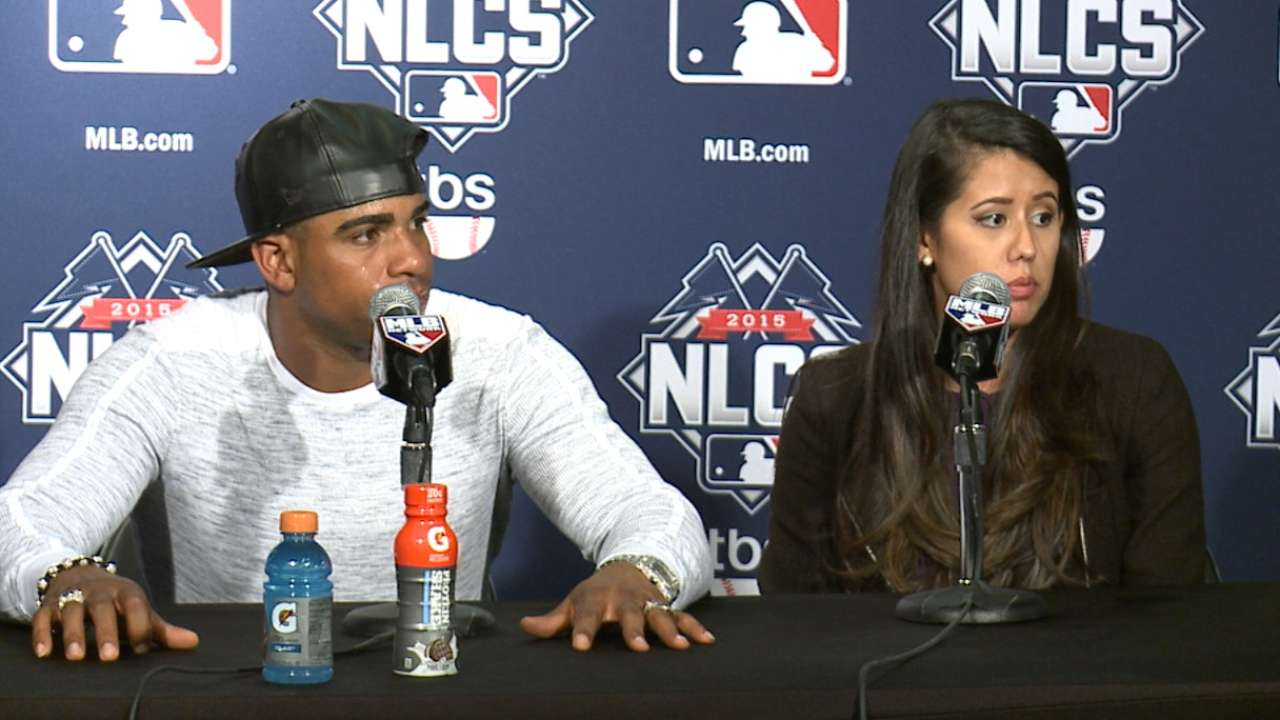 Cespedes on Mets' 3-0 NLCS lead