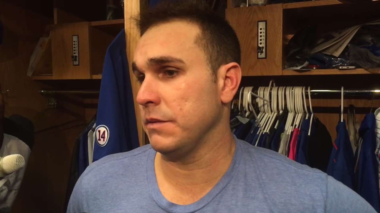 Montero on crucial wild pitch