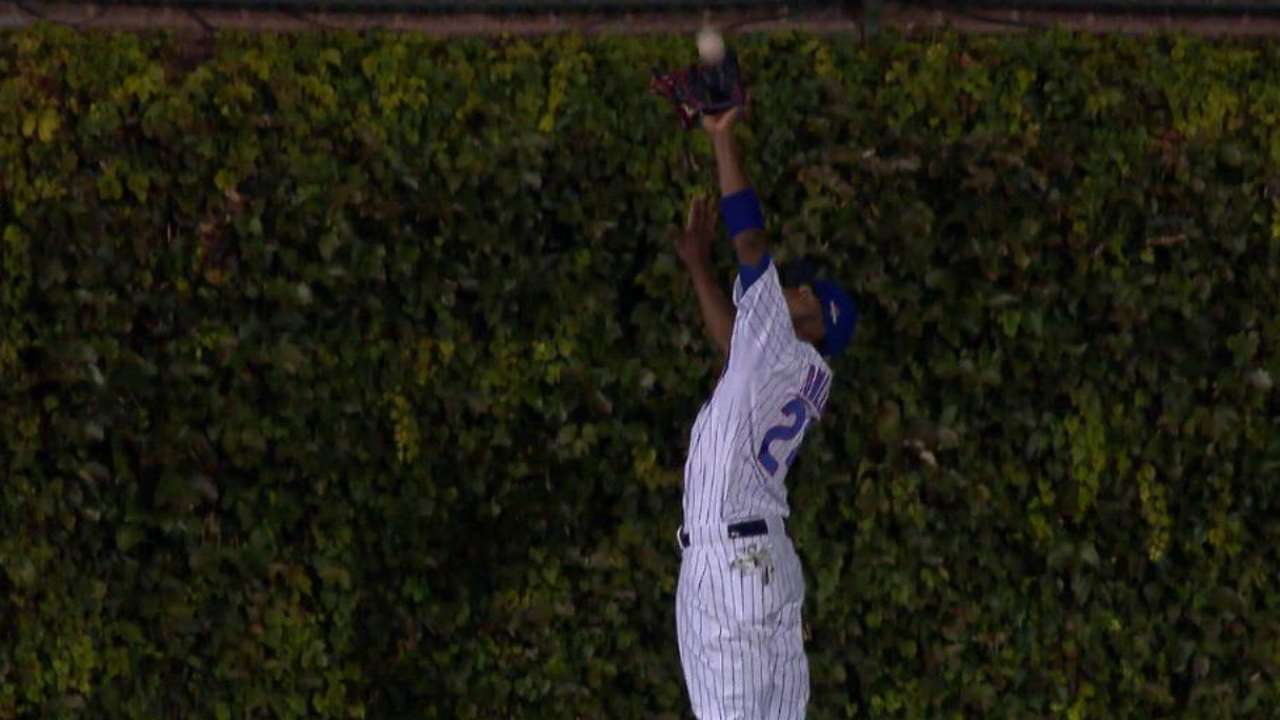 Fowler's leaping catch