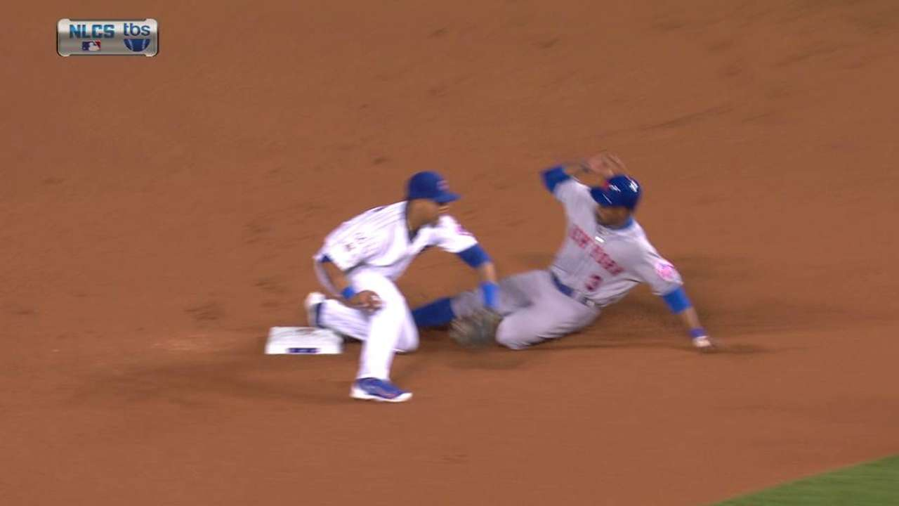 Mets may cut back on steal attempts vs. KC