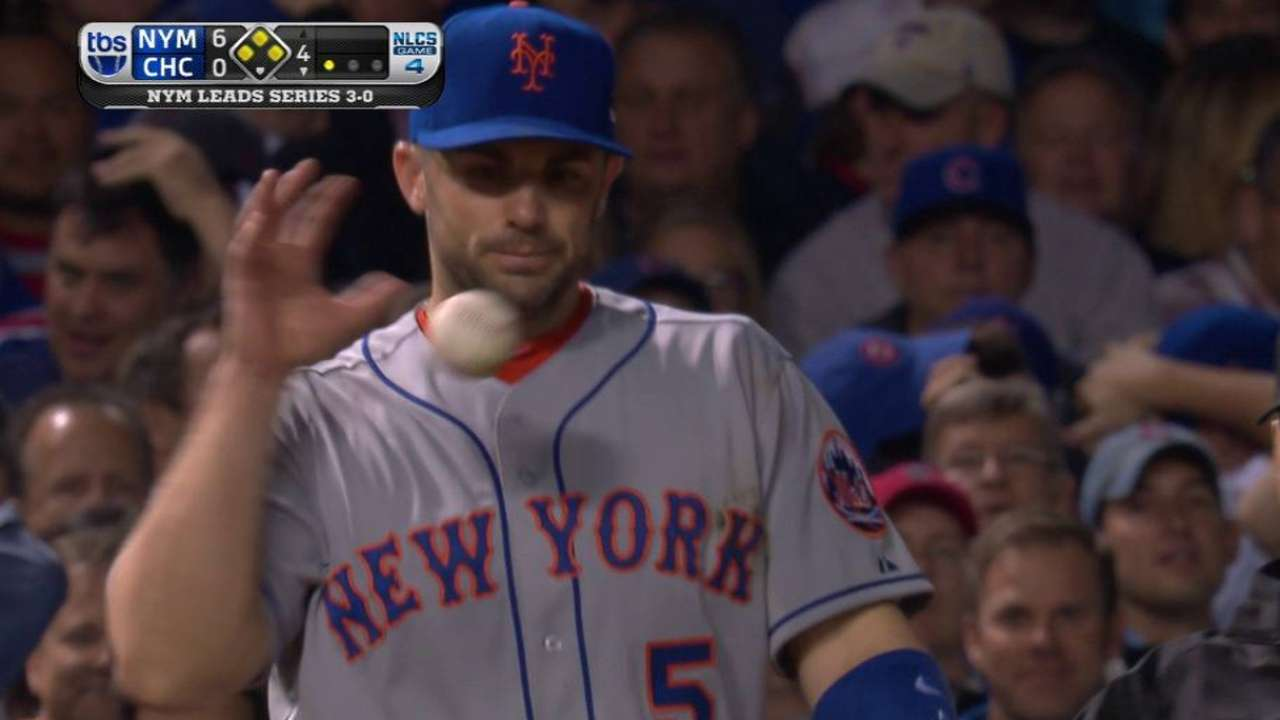 Wright leaps to snag liner