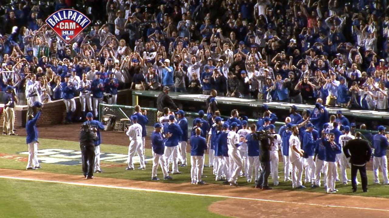 Cubs salute their fans