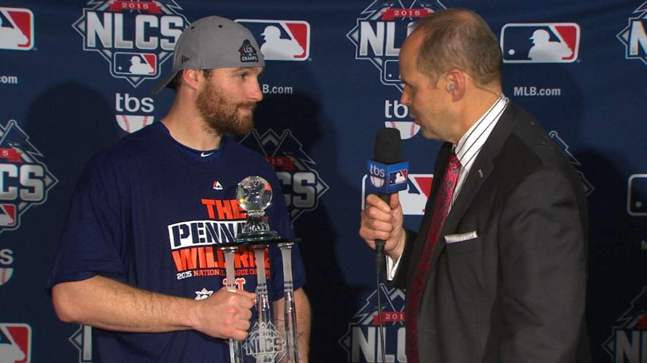 Murphy named NLCS MVP