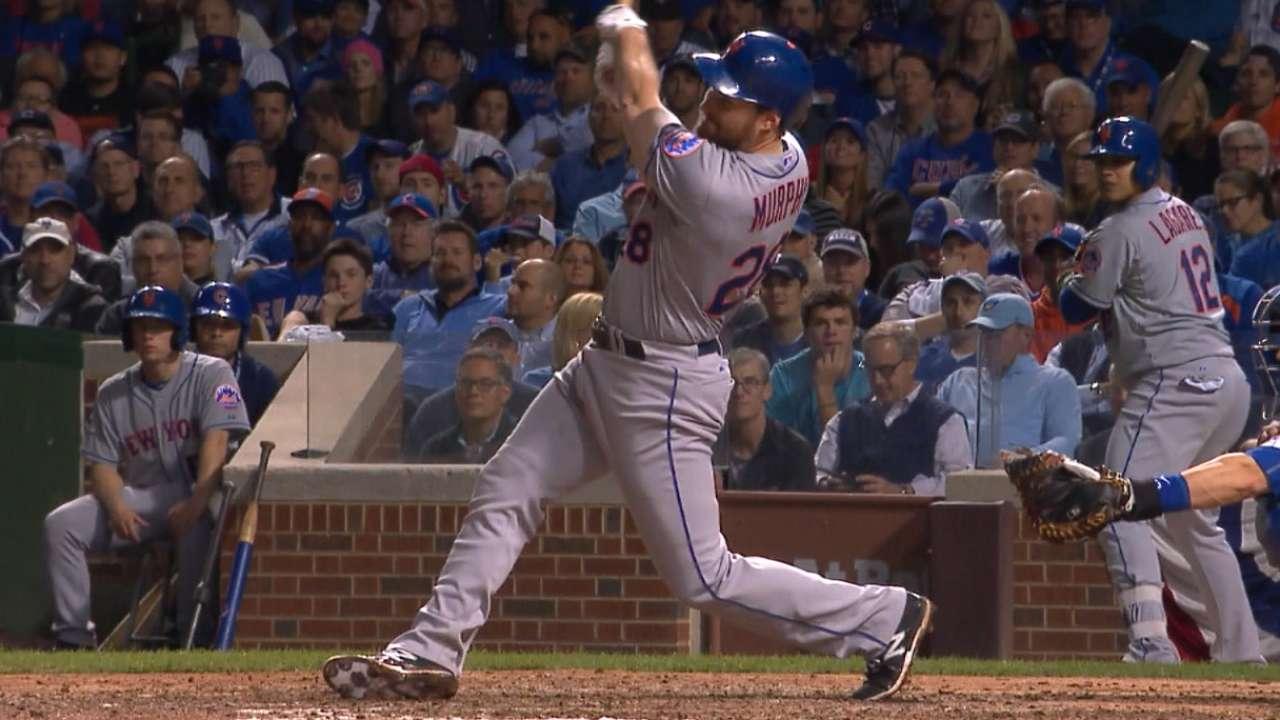 Murphy's four-hit game