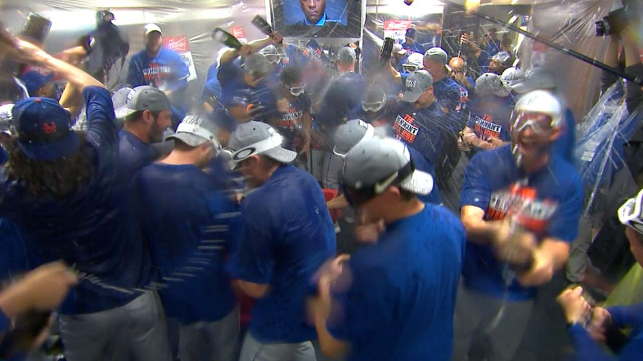Must C: Mets advance to WS