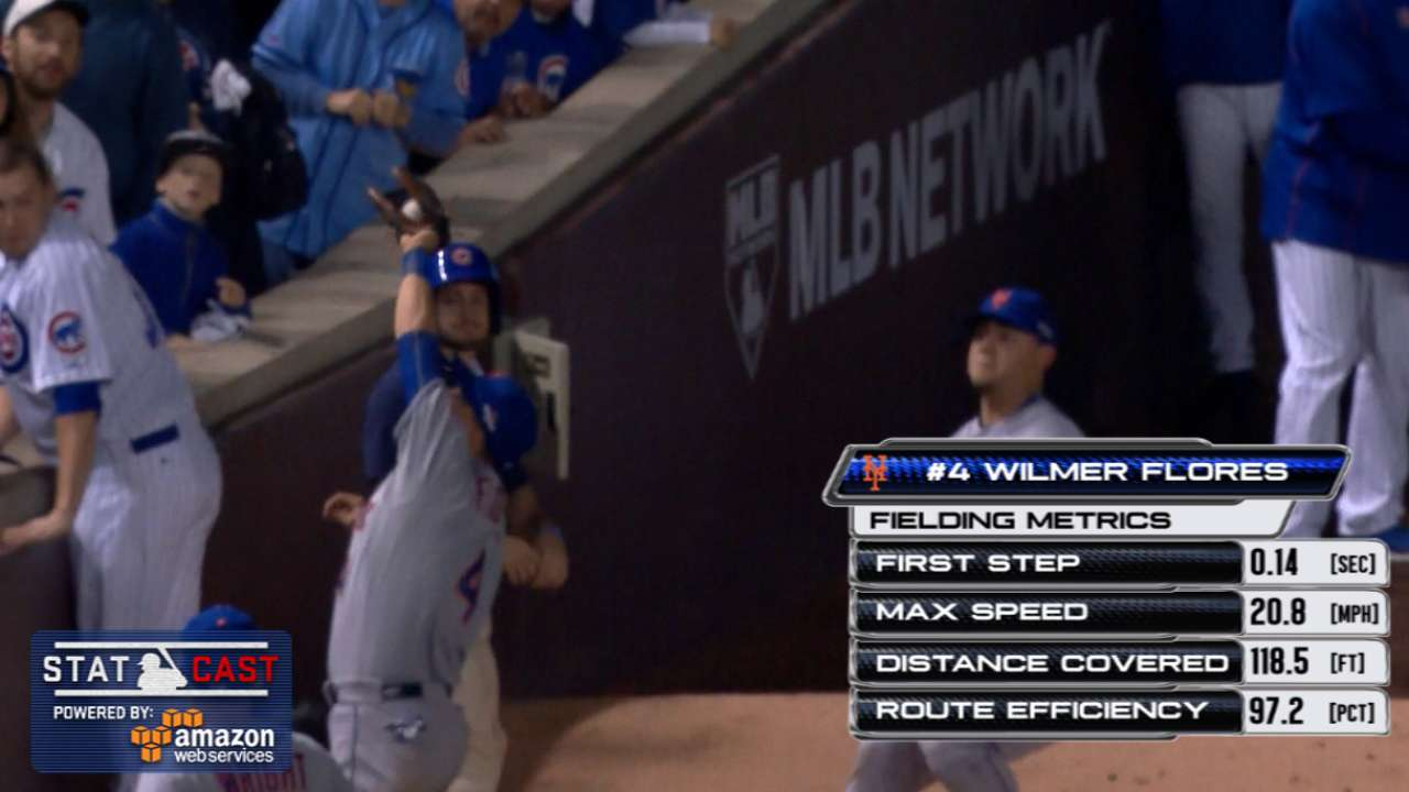 Statcast: Defense propels Mets to World Series