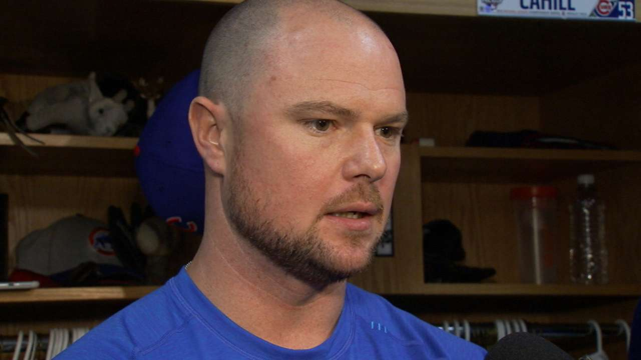 Lester reacts to NLCS loss