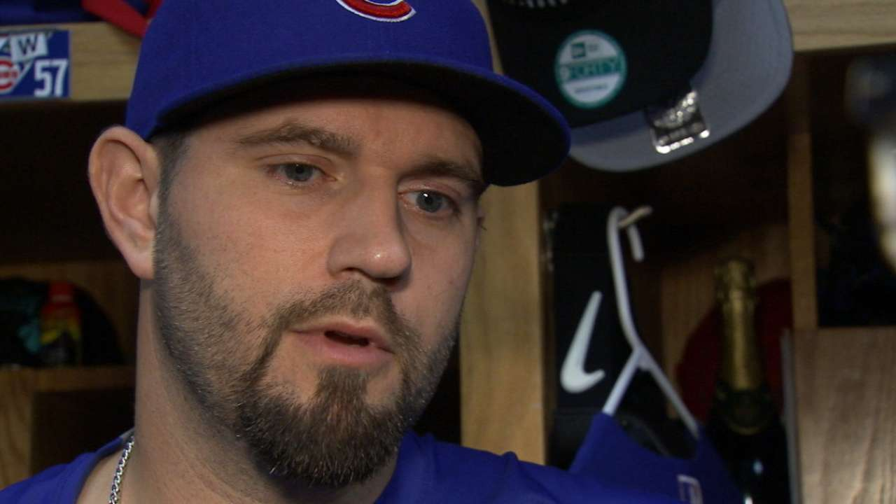 Hammel on taking loss in Game 4