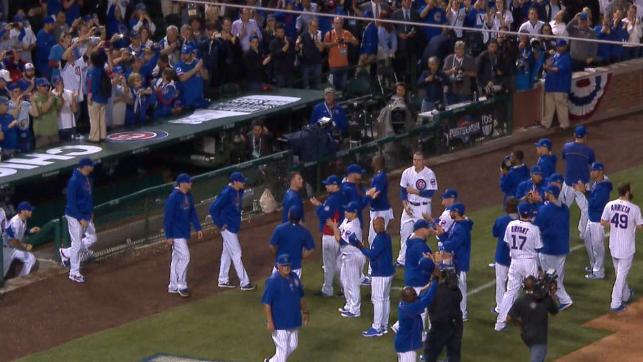 Mets commend Cubs for great NLCS