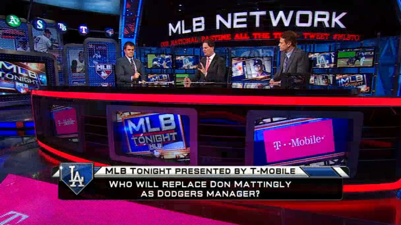 MLB Tonight talks Mattingly
