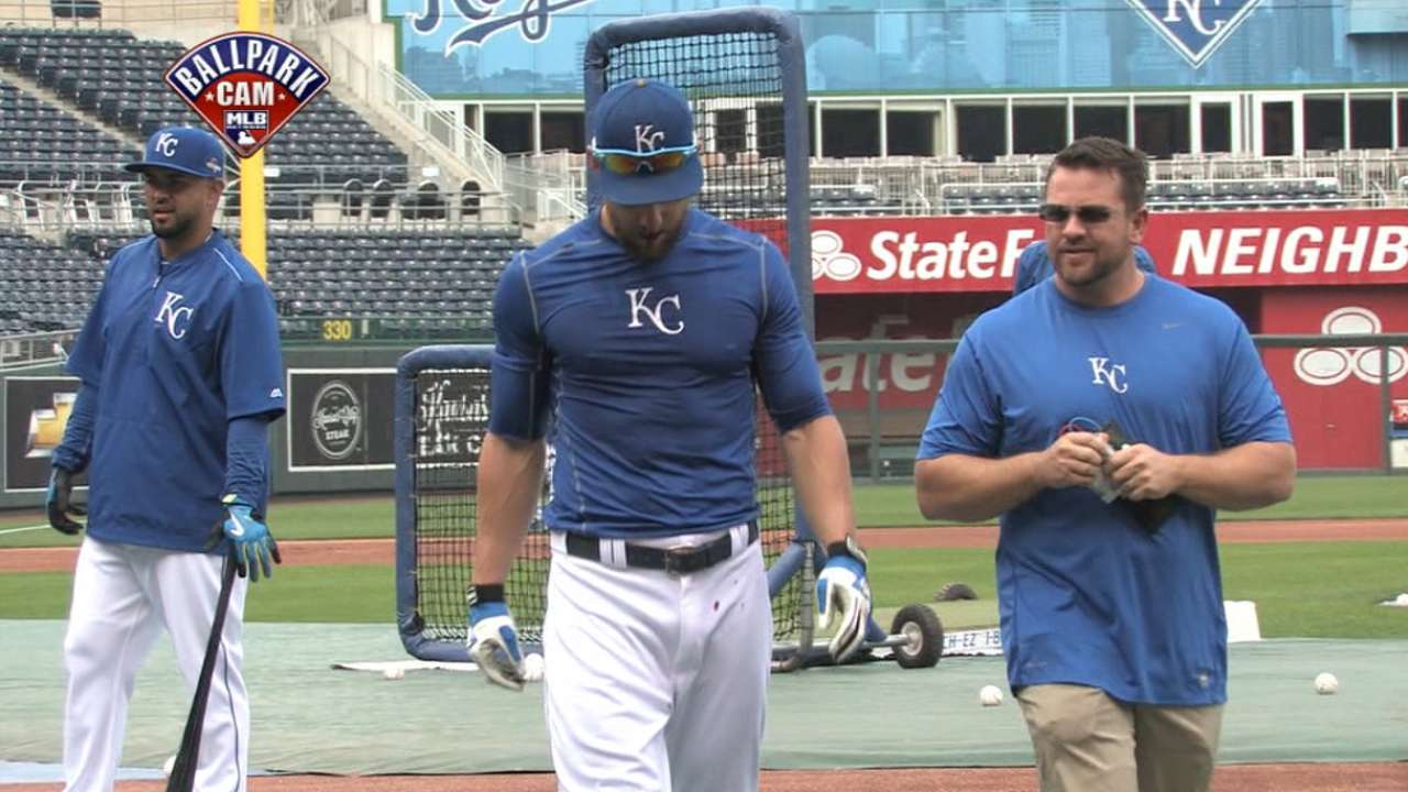 Gordon treated for bloody nose during BP