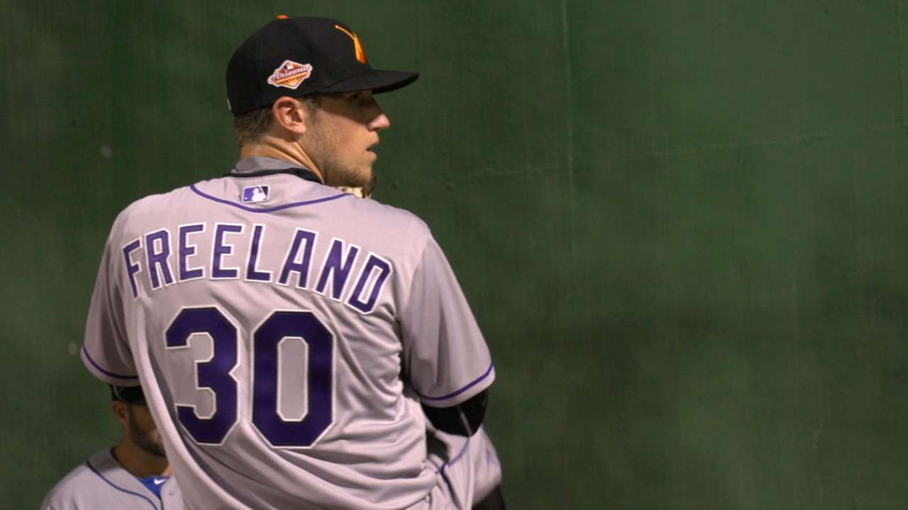 Rockies in AFL: Freeland grateful for extra work
