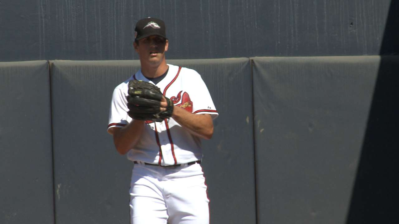 Braves in AFL: Sims grows following difficult season