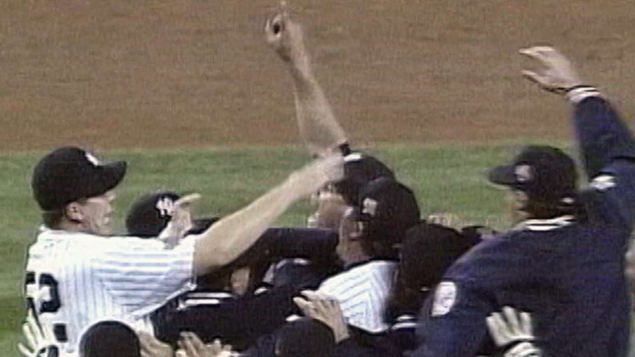 Yanks to celebrate '96 champs in grand fashion