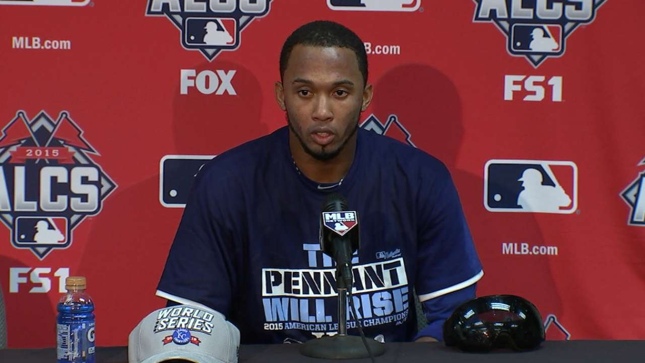 Oct. 23 Alcides Escobar postgame interview