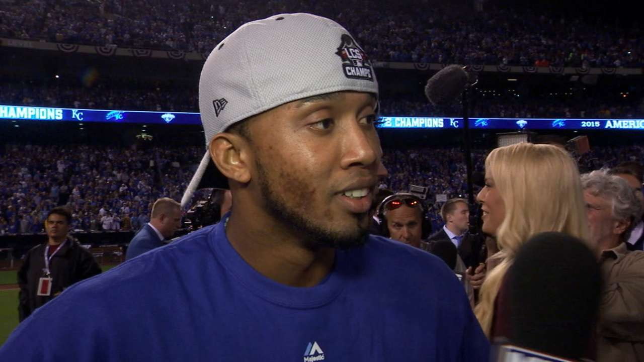 Escobar excited after ALCS win