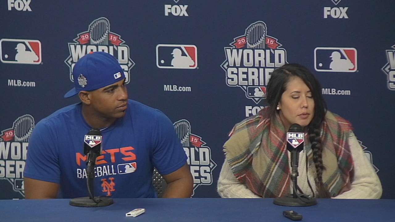Cespedes on injury, Royals