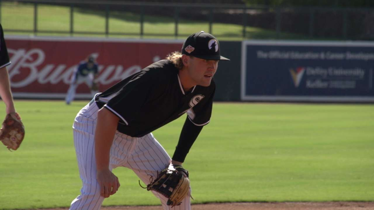 White Sox in AFL: Michalczewski puts time to good use