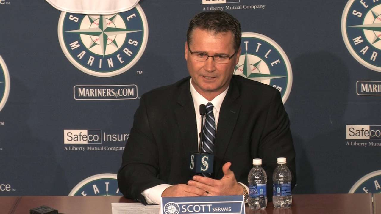 Servais eager for challenge as Mariners manager
