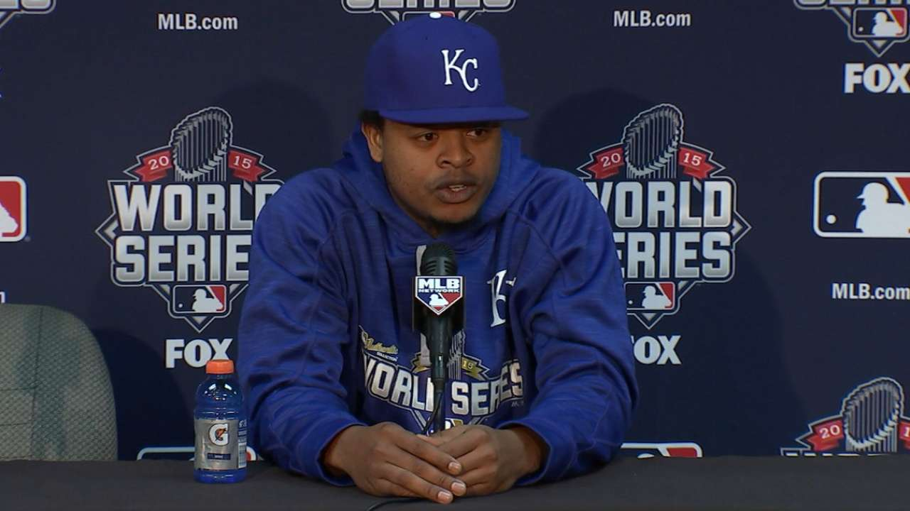 Oct. 26 Edinson Volquez workout day interview