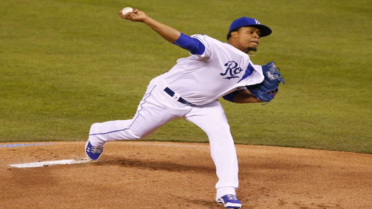 Yost confident in Cueto, World Series rotation