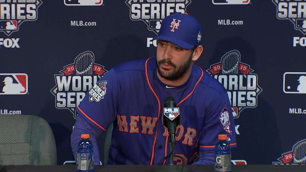 Harvey excited to start Game 1