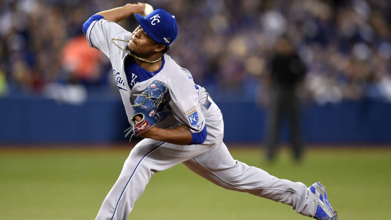 Volquez relaxed as ever heading into Game 1