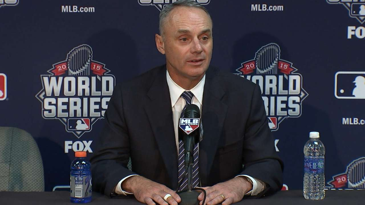 Manfred addresses player safety