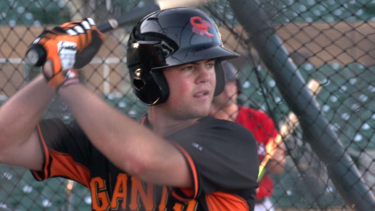 Giants in AFL: Arroyo continues to impress with bat