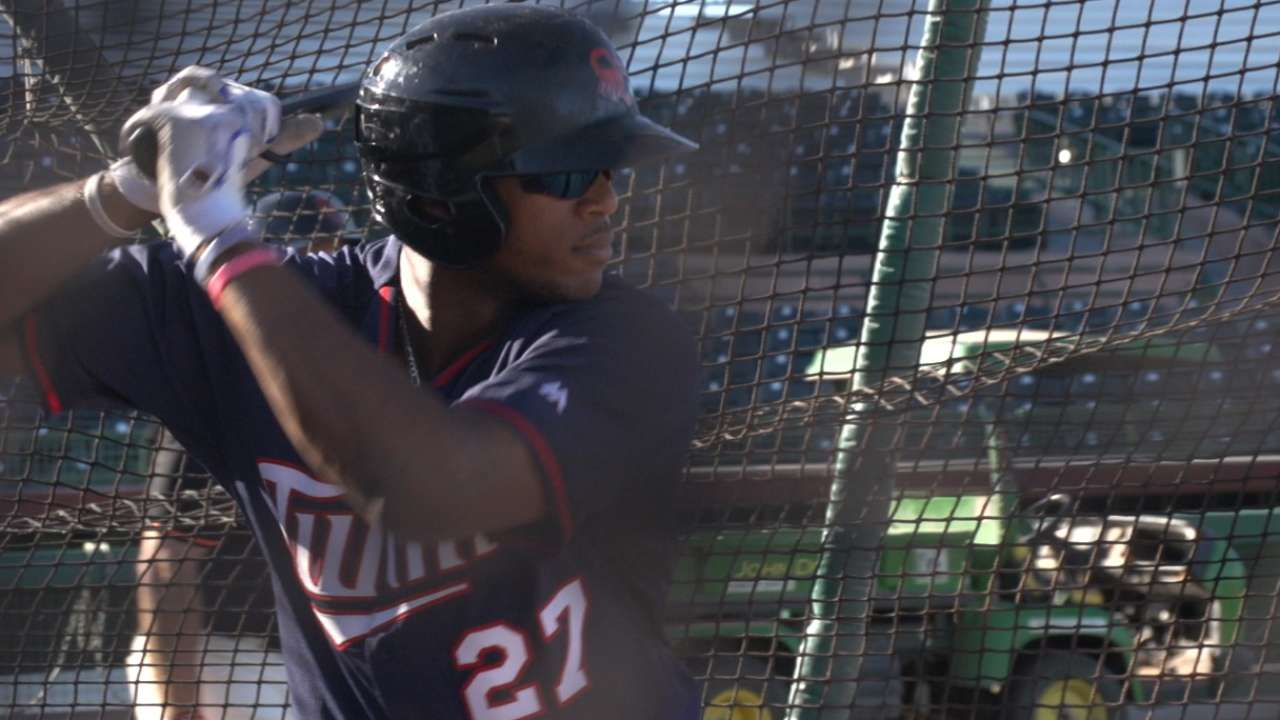 Twins in AFL: Walker working on 'plate discipline'