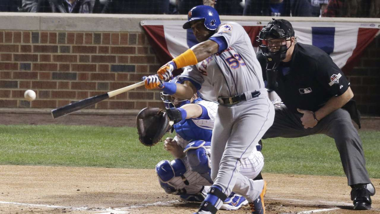 Cespedes, Grandy ready to go in Series