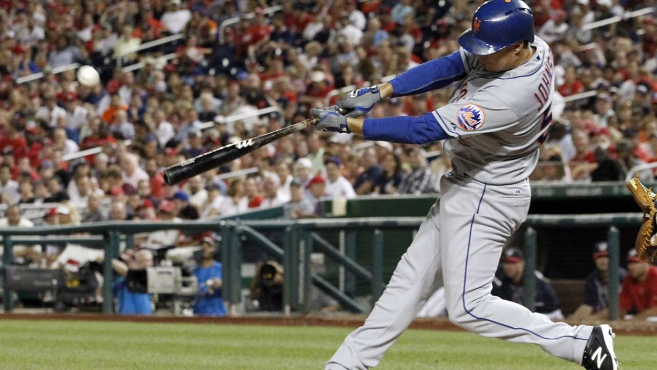 Johnson will be Mets' DH in Game 1