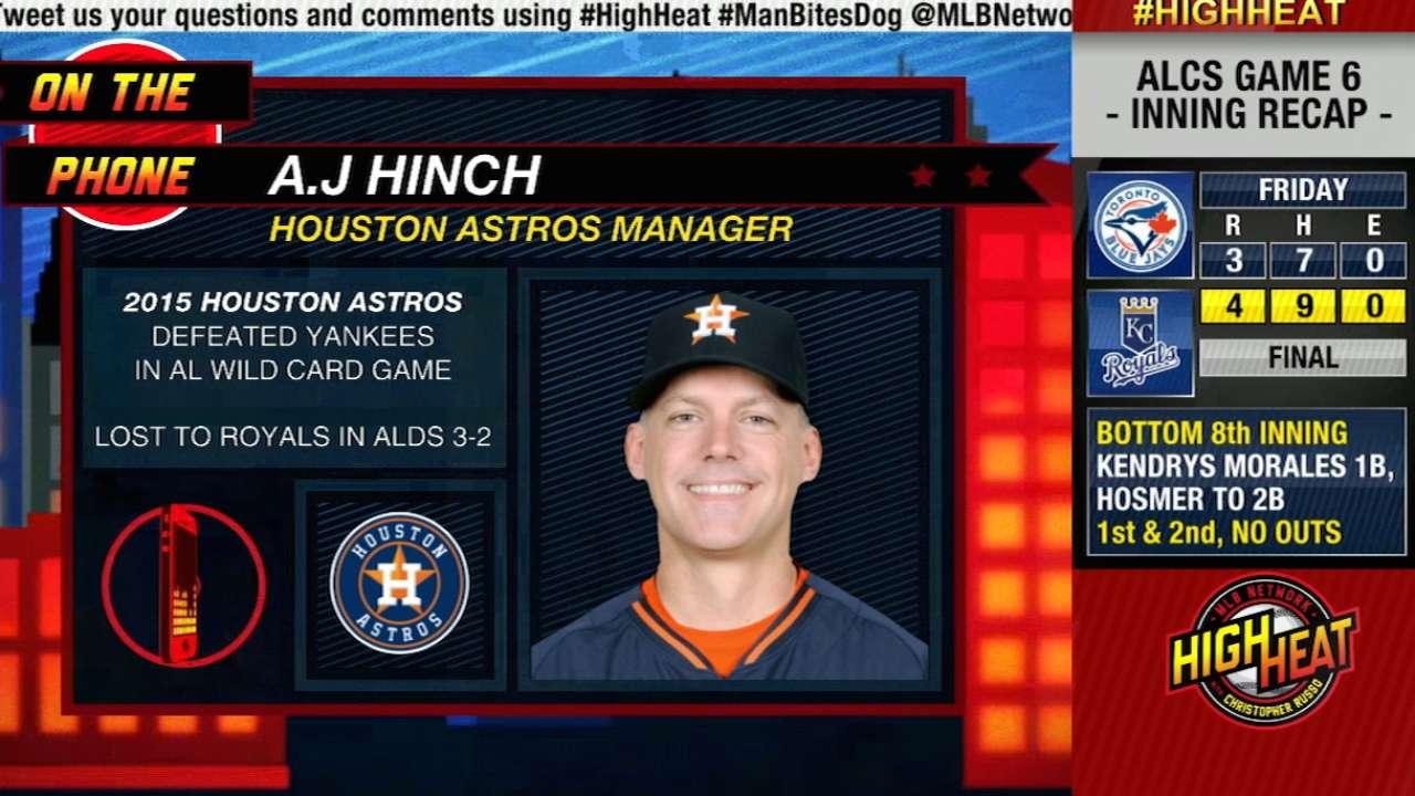 High Heat: A.J Hinch