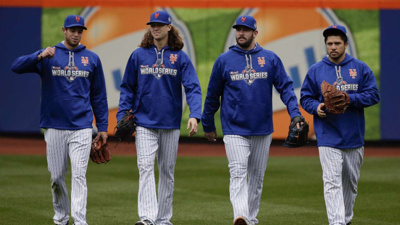 deGrom on the Mets' rotation