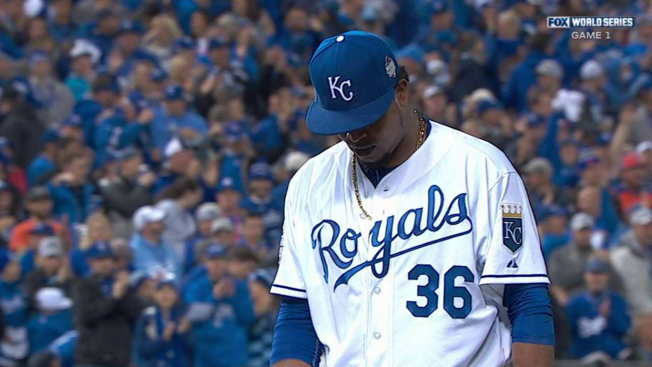 Volquez gets Wright, ends threat