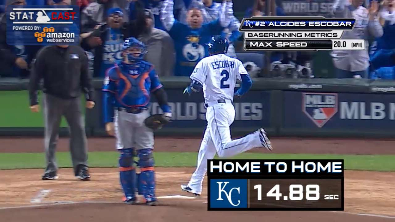 Escobar's inside-the-park HR one for the ages