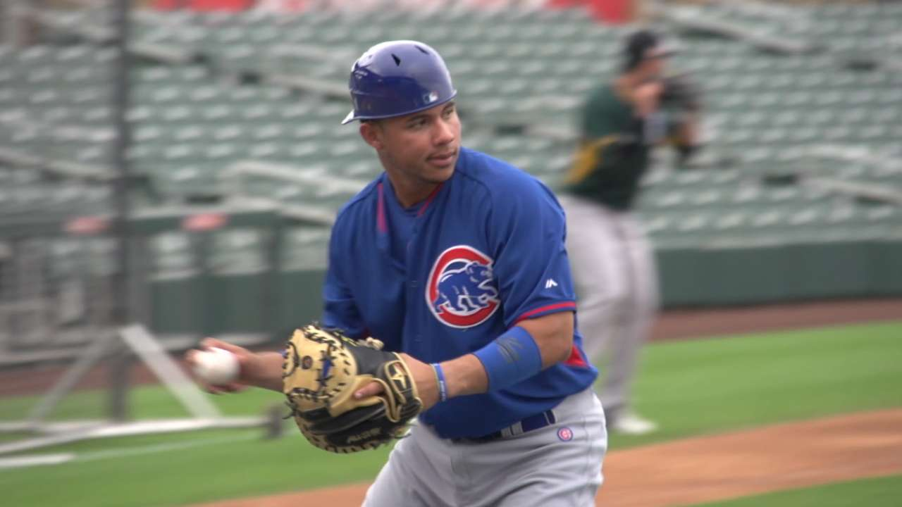 Cubs in AFL: Contreras' call may come soon