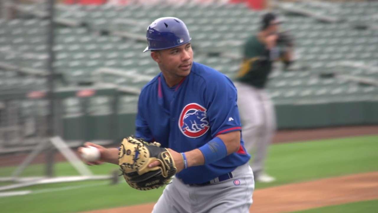 Contreras has come a long way as a catcher