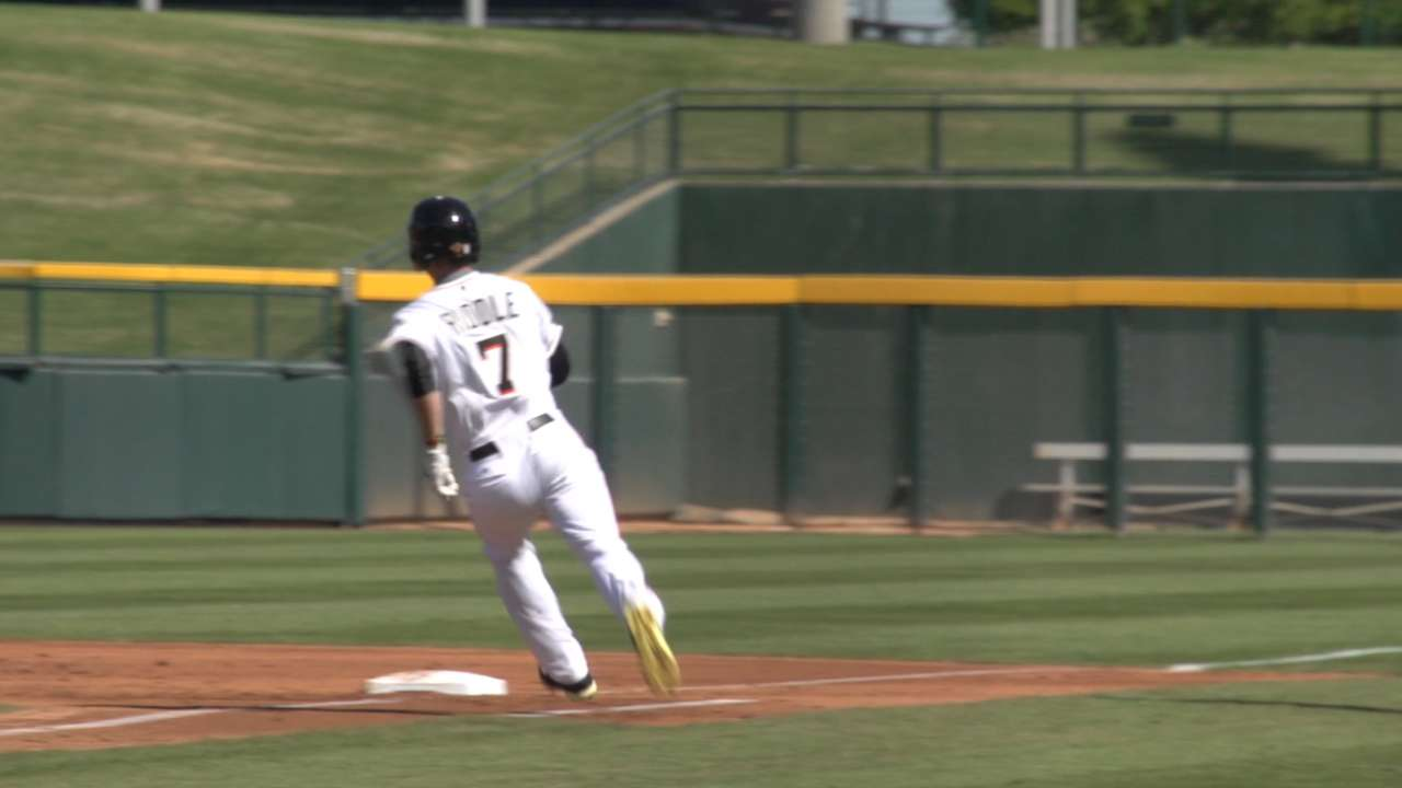 Marlins in the AFL: Riddle thriving at shortstop