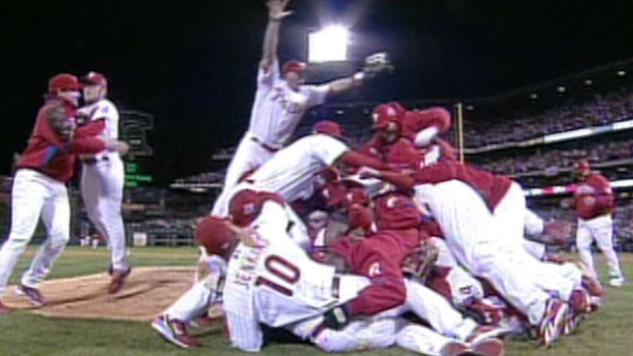 Lidge to recall Game 5 of '08 World Series in radio special