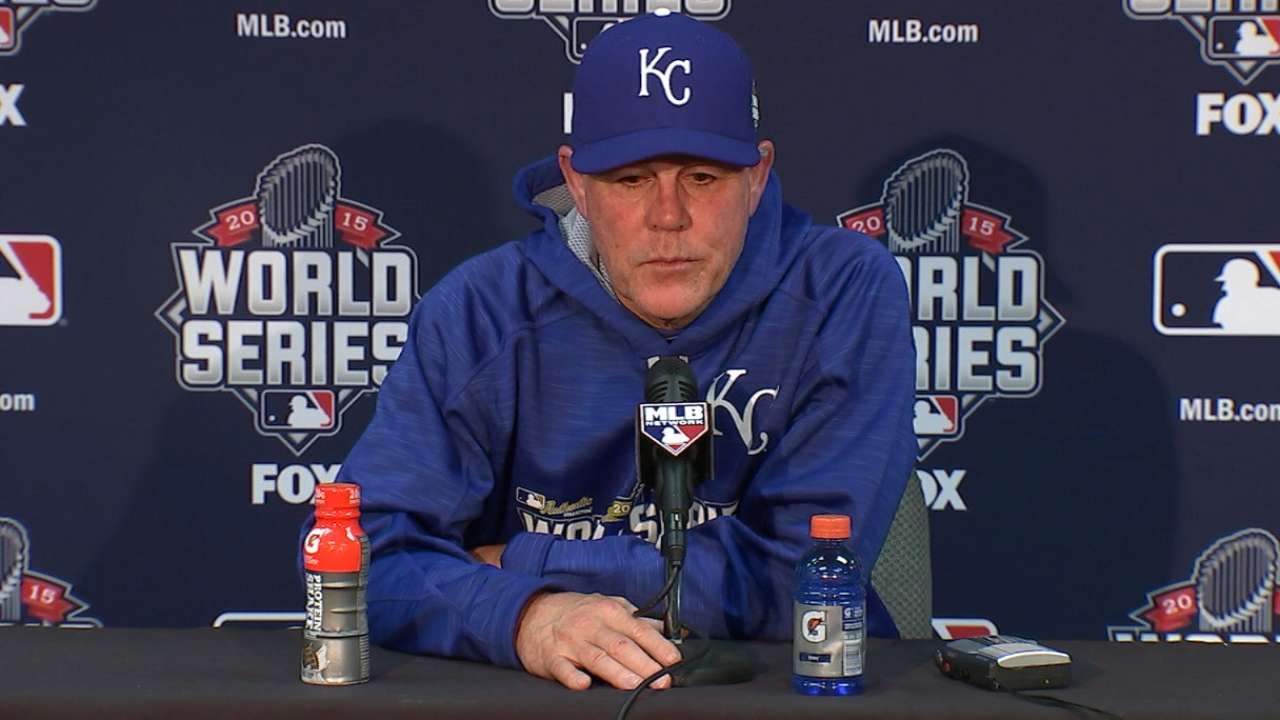Yost on Royals' Game 2 win