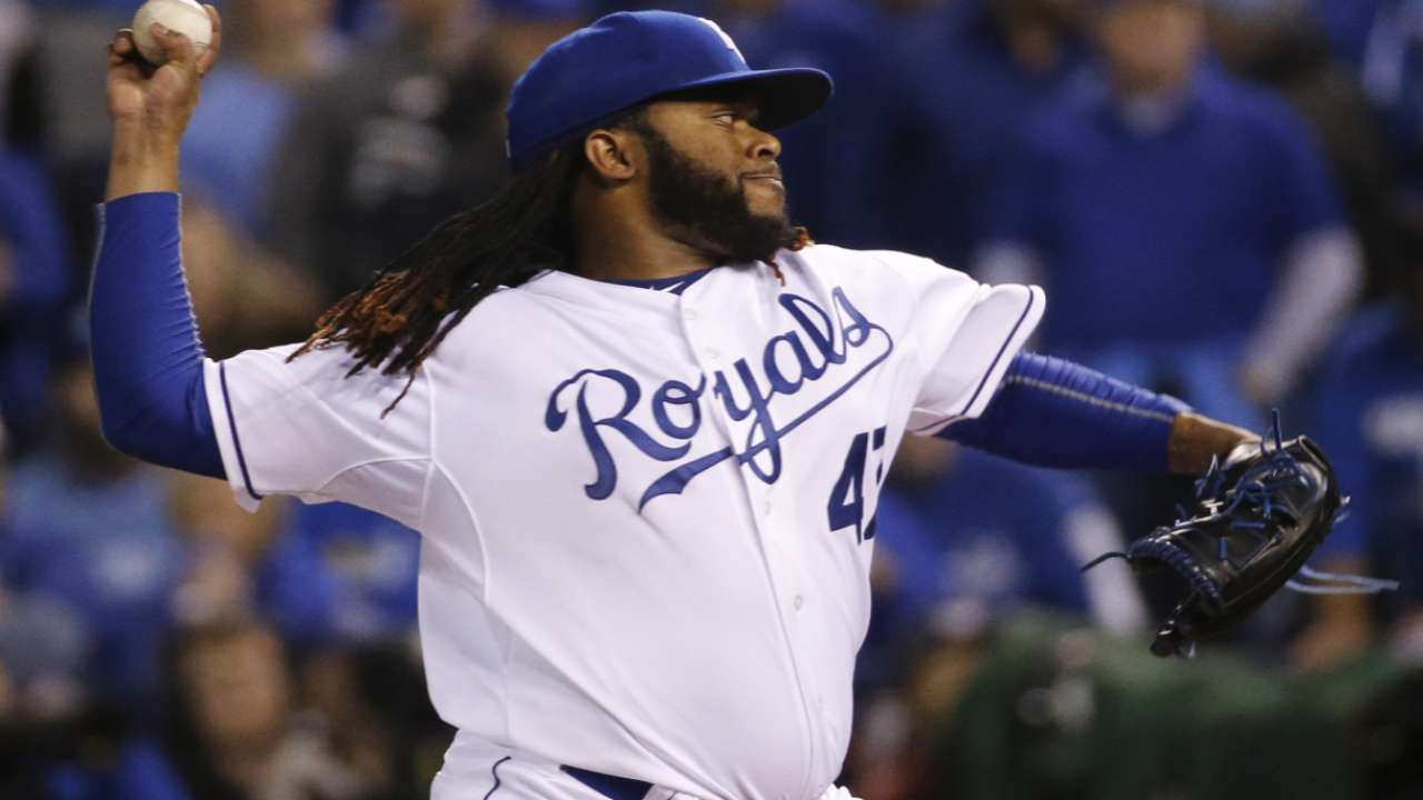 Royals pack rested bullpen for trip to NY