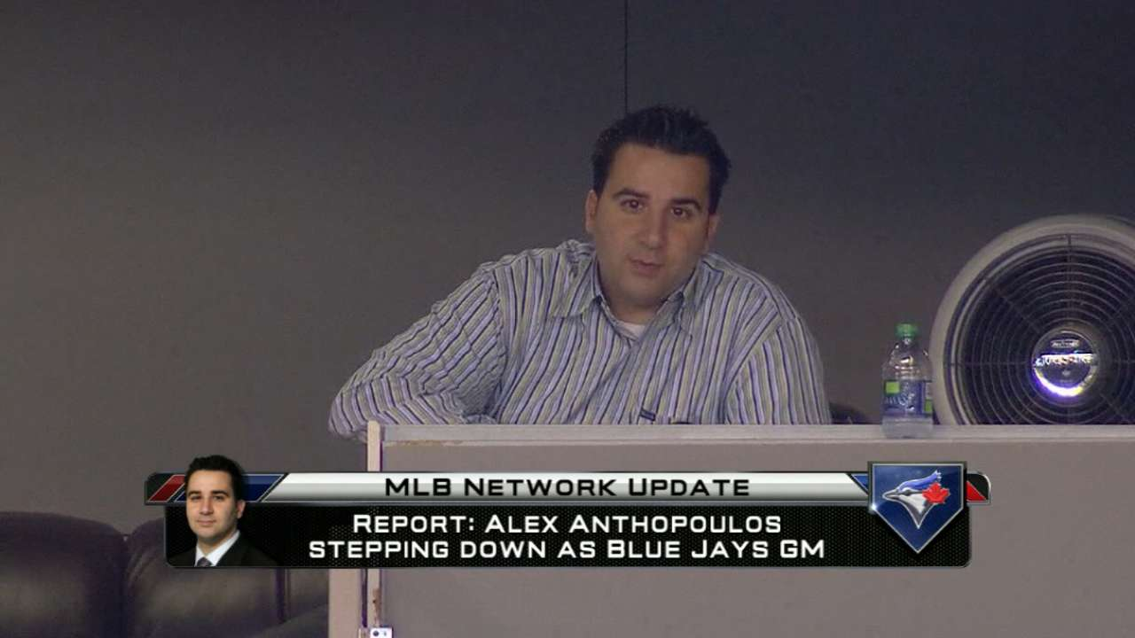 Anthopoulos steps down as GM