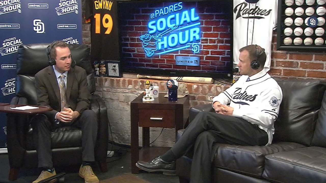 Andy Green on Padres Social Hour