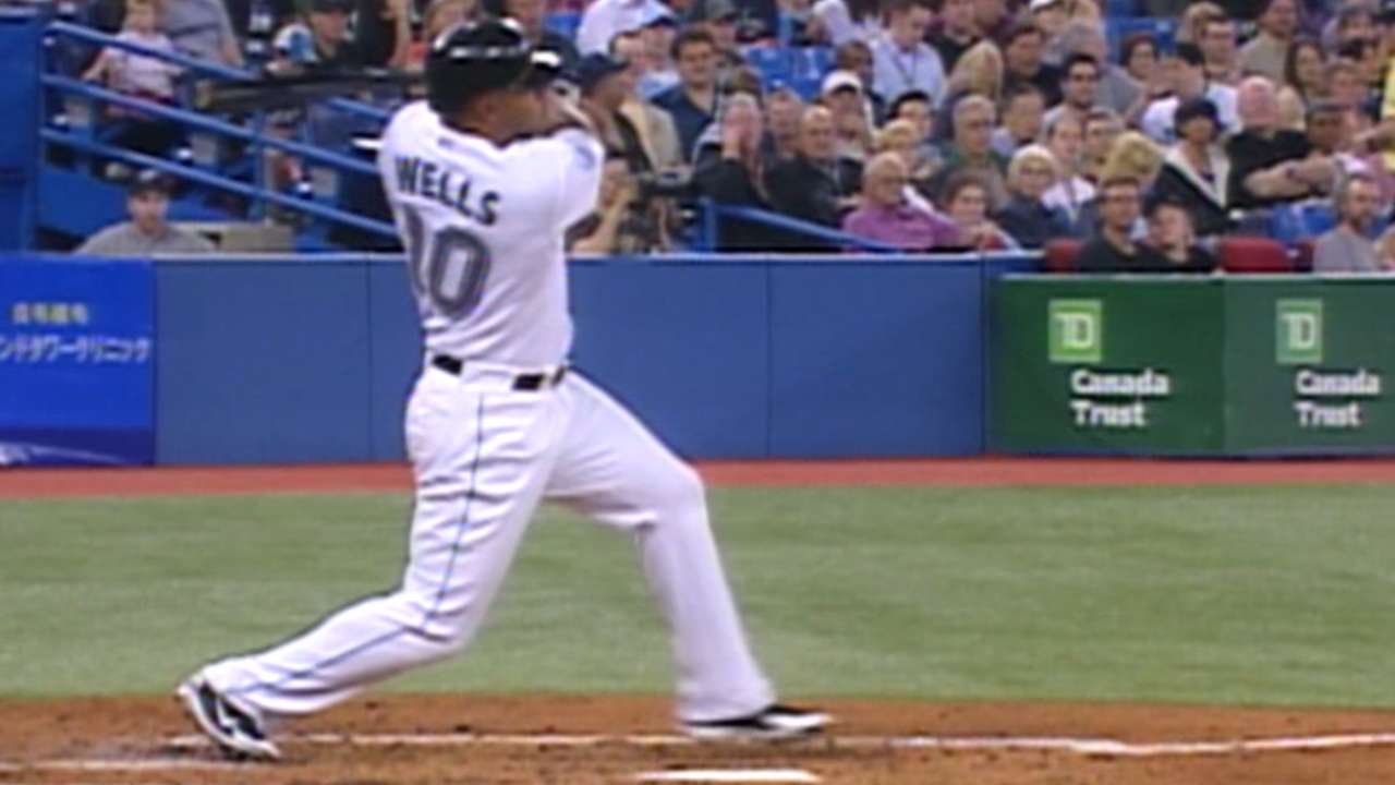 Wells homers off Garcia