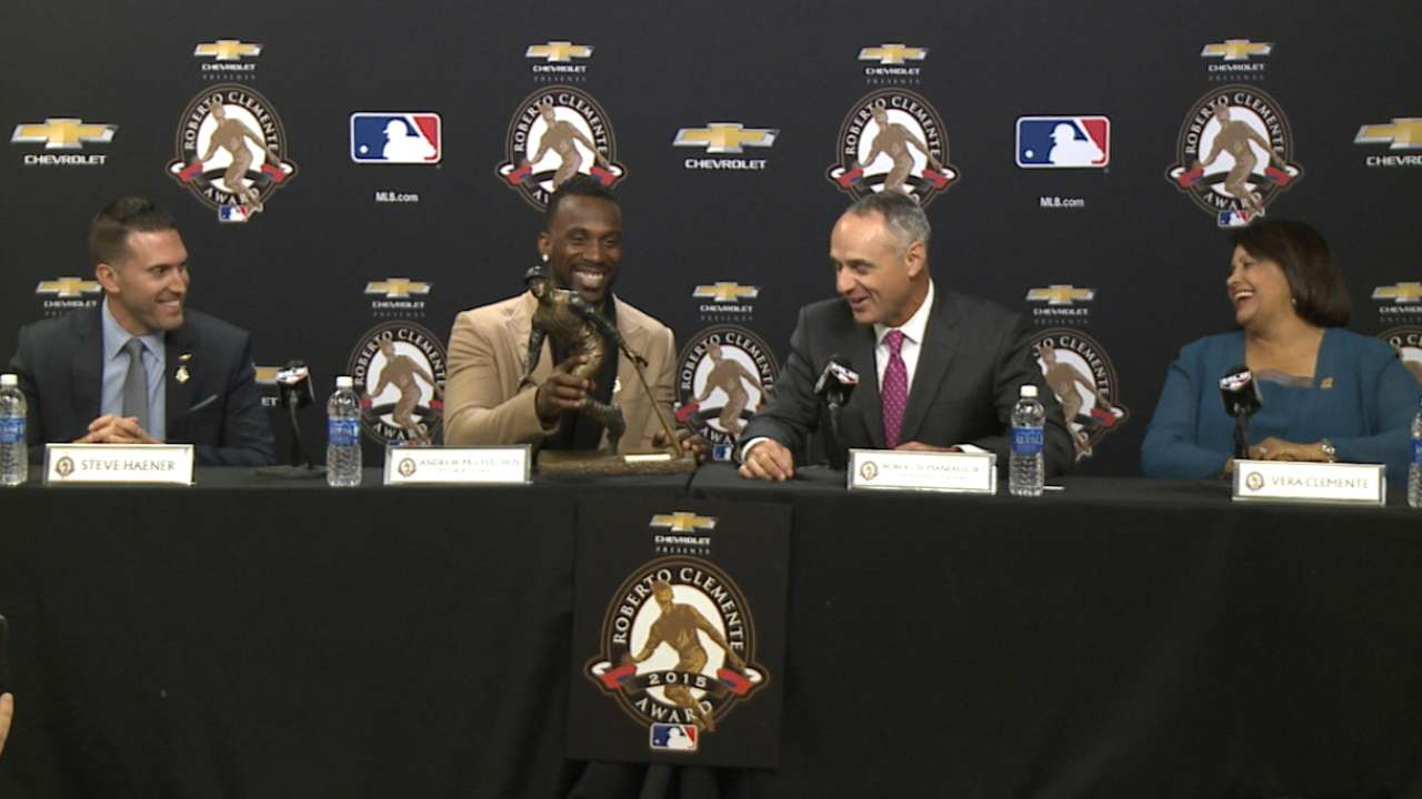 2015 Clemente Award announced