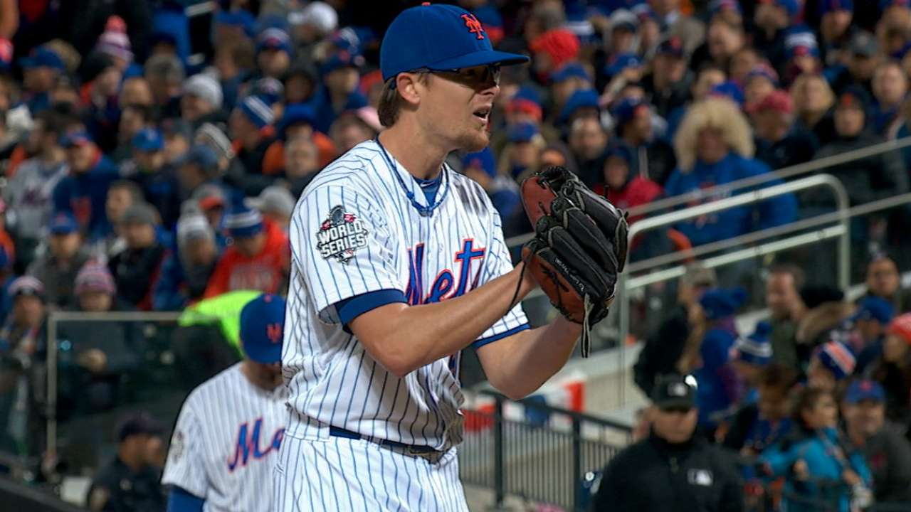 Clippard's perfect 8th inning